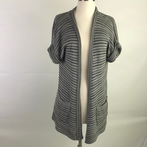 Urban Outfitters Silence+Noise Gray/Black Cardigan